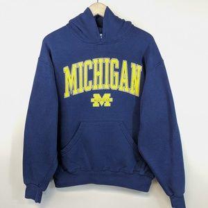 Vintage 90's University of Michigan Hoodie